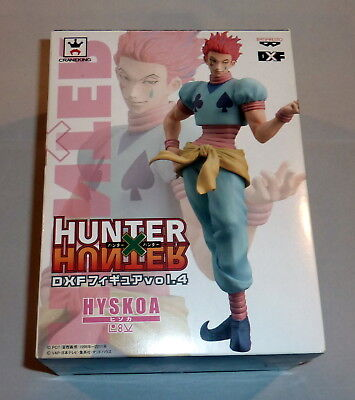BOX ONLY - Hunter x Hunter Hisoka Hyskoa Banpresto DXF Figure - BOX ONLY