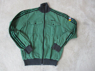 78a6b435b169 VINTAGE ADIDAS TRACK Jacket Adult Small Green Black Espana 1982 Spain Soccer  Men -  31.10
