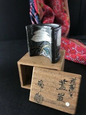 Old Japanese Porcelain in Wooden Box …beautiful collection item