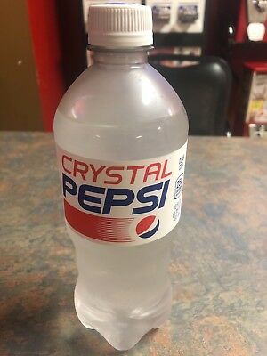 Crystal Pepsi 2018 Expires 11/05/2018 New sealed