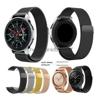 Milanese Loop Bracelet Wristband Strap for Samsung Galaxy Watch Band 42mm 46mm