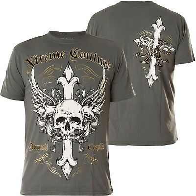 Xtreme Couture by Affliction T-Shirt Annuit Grey
