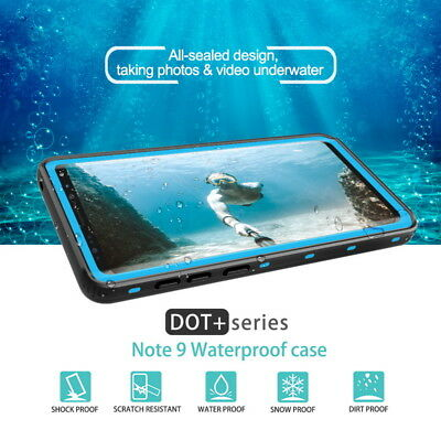 Waterproof Shockproof Dirtproof Clear Case Cover For Samsung Galaxy Note 9/8 S9