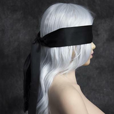 Blindfold BDSM Eye Satin Mask Sex Couple Games Love Cosplay Cover Band PlayA