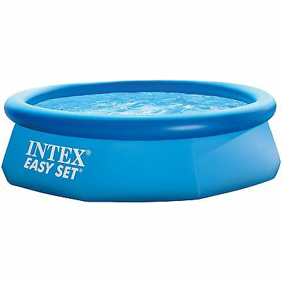 Intex Easy Set Pool 128110NP, Ø 244cm x 76cm, Schwimmbad, hellblau
