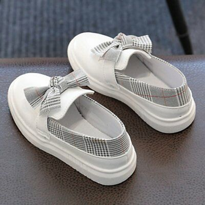 Girl's casual shoes fashion bow tie shoes DS