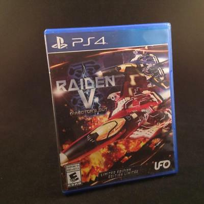 PS4 Game: Raiden V: Director's Cut -- Limited Edition (Sony PlayStation 4, 2017)