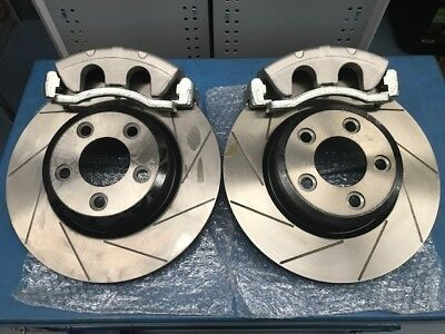 322mm FRONT SLOTTED ROTOR & CALIPER BIG BRAKE UPGRADE SUIT AU2 AU3 BA BF FALCON