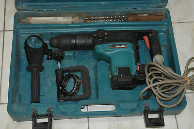 Makita HR4000C Rotary Hammer SDS-Max 2 Mode 1050W Variable Speed+Case+Drill Bits