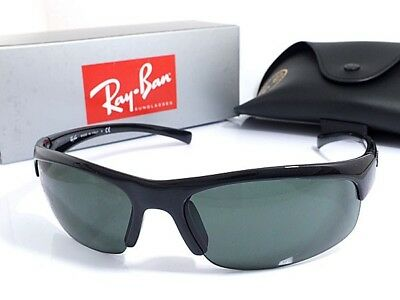 6472002e1938 Ray Ban RB4039 sport sunglasses, black glossy rim, interchangeable lenses