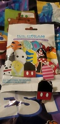 Ice Cream Collectible Pin Pack ( Mickey )
