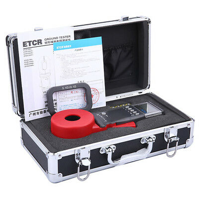 ETCR2100A+ Digital Display Clamp On Ground Earth Resistance Meter Ground Tester