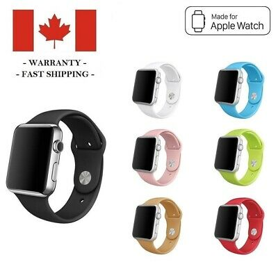38mm 42mm Silicone Sports Band Replacement Strap for Apple Watch Series 3 2 1