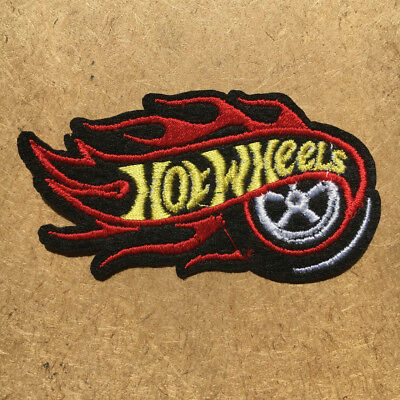 1pc Hot Wheels Car Embroidered Patch Cloth Iron On Applique craft sewing #1145