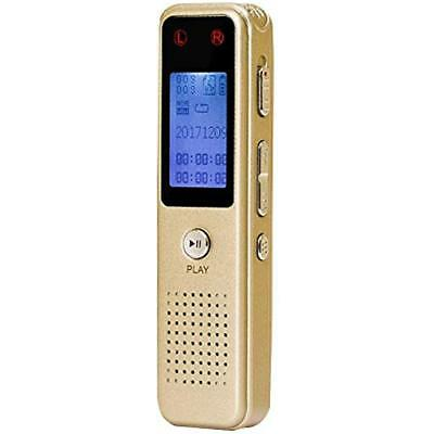 Digital Voice Recorders Recorder, 8GB Portable Audio Sound Dictaphone With Metal