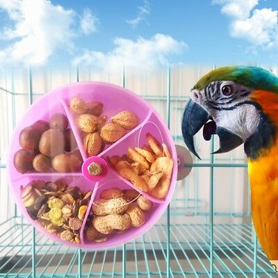 Bird Feeding Wheel Food Gnawed Foraging Parrot Food Paradise Feed Toys Funny