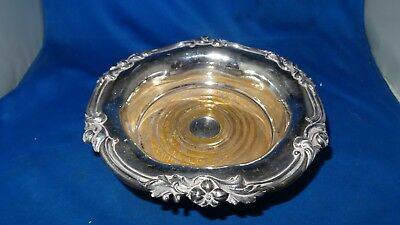Lovely Antique Sheffield Plate Wine Coaster C.1825 George 4Th Original Condition