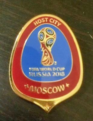 SUPER RARE: 2018 FIFA World Cup Football Official Lapel Pin VOLUNTEER ONLY