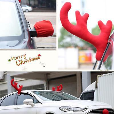 car vehicle reindeer christmas antler costume truck decoration decorations new