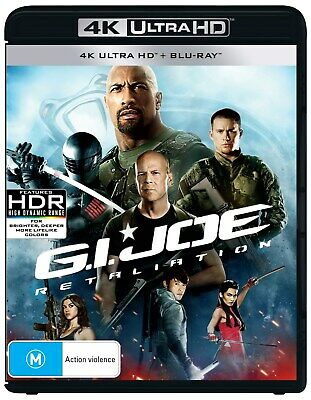 GI Joe Retaliation 4K Ultra HD Blu-ray UHD Region B NEW