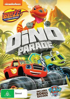 Blaze and the Monster Machines Dino Parade DVD Region 4 NEW