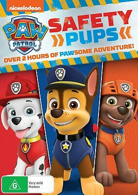 Paw Patrol Safety Pups DVD Region 4 NEW