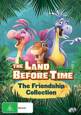 The Land Before Time The Friendship Collection DVD Region 4 NEW