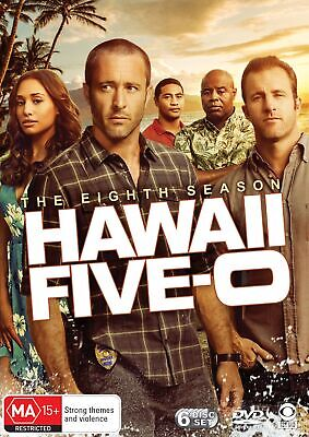Hawaii Five 0 The Eighth Season 8 Box Set DVD Region 4 NEW