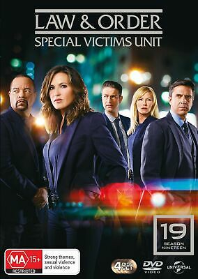 Law and Order Special Victims Unit Season 19 Box Set DVD Region 4 NEW