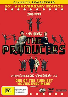 The Producers 50th Anniversary Edition DVD Region 4 NEW