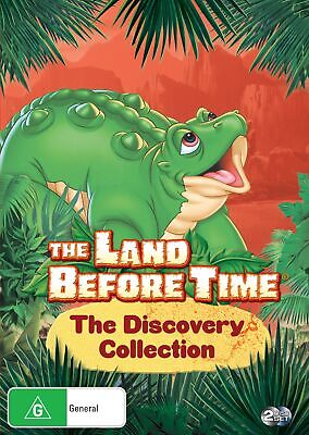 The Land Before Time The Discovery Collection DVD Region 4 NEW