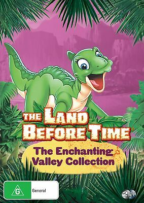 The Land Before Time The Enchanting Valley Collection DVD Region 4 NEW