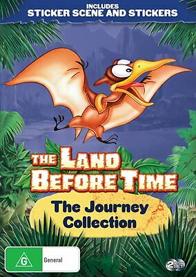 The Land Before Time The Journey Collection DVD Region 4 NEW