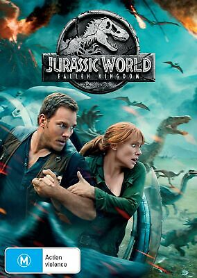 Jurassic World Fallen Kingdom with Digital Download DVD Region 4 NEW