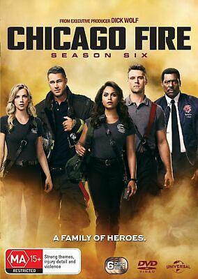 Chicago Fire Season 6 Box Set DVD Region 4 NEW
