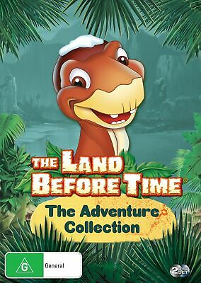 The Land Before Time The Adventure Collection DVD Region 4 NEW