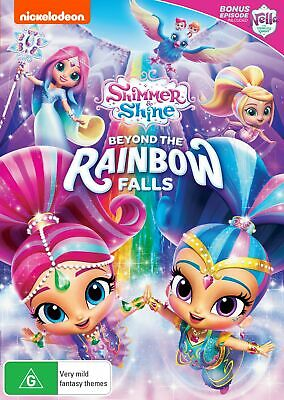 Shimmer and Shine Beyond the Rainbow Falls DVD Region 4 NEW
