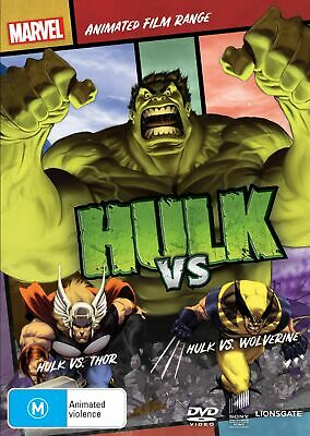 Hulk Vs DVD Region 4 NEW