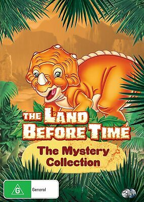The Land Before Time The Mystery Collection DVD Region 4 NEW