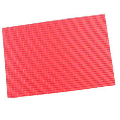 10x 1/25 Scale Roof Tile Sheet Model PVC Plastic DIY Model Building Material