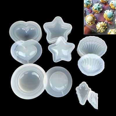 AM_ DIY Silicone Mold Making Pendant Jewelry Resin Casting Mould Craft Tool Clea