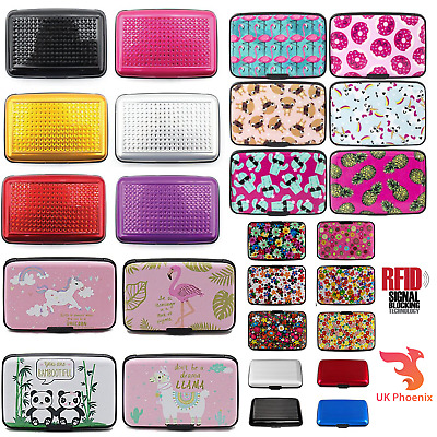 Blocking Contactless Credit Cards Case Christmas Gift for Women RFID Card Holder