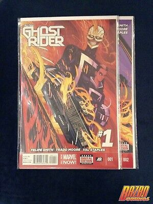 All New Ghost Rider #1-2 Robbie Reyes 1st Print 2014 Marvel Now Marvel Comics