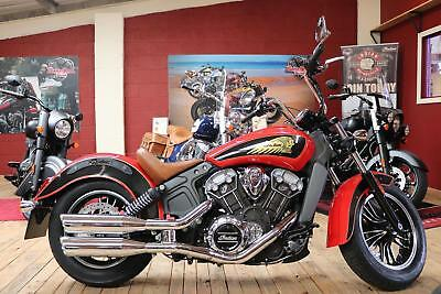 Indian Scout 1200. Excellent Condition. Low Mileage. FSH. Extras