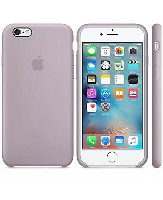 NEW - Genuine Silicone Case for Apple iPhone 6s / 6 in Lavender