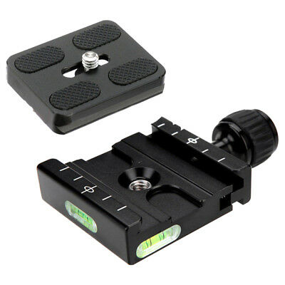 Clamp & Quick Release Plate For Arca SWISS RRS BENRO Tripod Monopod Ball Head