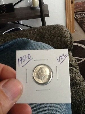 1951-D Roosevelt Dime in Gem Brilliant Uncirculated