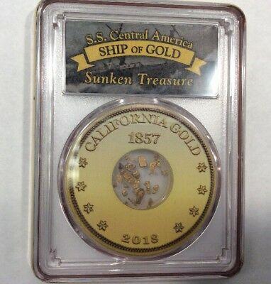 S.S. Central America Ship of Gold (One Pinch Of Gold Nuggets)