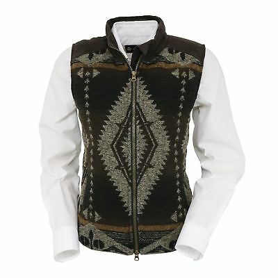 Outback Trading Women's Maybelle Aztec Vest 29629-BRN