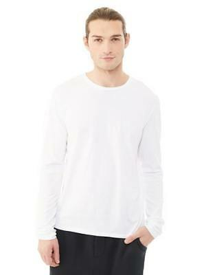 New Alternative Apparel Mens Heritage Garment Dyed Long Sleeve T-Shirt